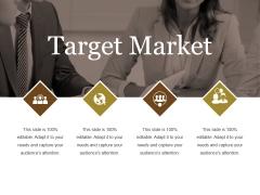 Target Market Ppt PowerPoint Presentation Inspiration