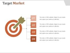Target Market Ppt PowerPoint Presentation Sample