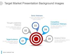 Target Market Presentation Background Images