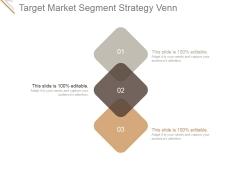 Target Market Segment Strategy Venn Ppt PowerPoint Presentation Templates