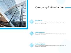 Target Market Segmentation Company Introduction Ppt PowerPoint Presentation Summary Sample PDF