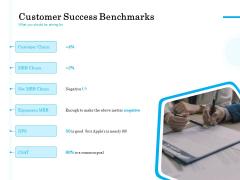 Target Market Segmentation Customer Success Benchmarks Ppt PowerPoint Presentation Styles Background PDF