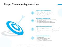 Target Market Segmentation Target Customer Segmentation Ppt PowerPoint Presentation Pictures Grid PDF