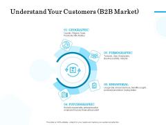 Target Market Segmentation Understand Your Customers B2B Market Ppt PowerPoint Presentation Visual Aids Outline PDF