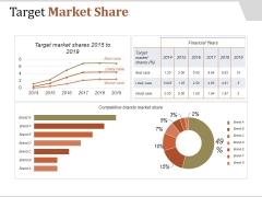 Target Market Share Ppt PowerPoint Presentation Background Image