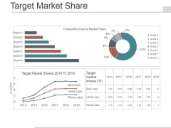 Target Market Share Ppt PowerPoint Presentation Infographics