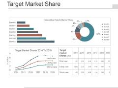 Target Market Share Ppt PowerPoint Presentation Infographics