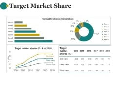 Target Market Share Ppt PowerPoint Presentation Introduction