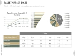 Target Market Share Ppt PowerPoint Presentation Pictures