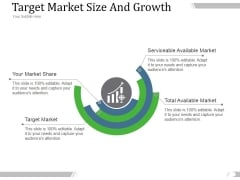 Target Market Size And Growth Ppt PowerPoint Presentation Pictures