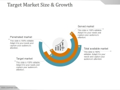 Target Market Size And Growth Ppt PowerPoint Presentation Slide Download