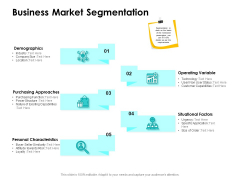 Target Market Strategy Business Market Segmentation Ppt Infographic Template Example Introduction PDF