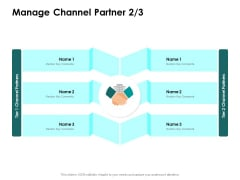 Target Market Strategy Manage Channel Partner Comments Ppt Icon Clipart Images PDF