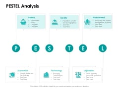 Target Market Strategy PESTEL Analysis Ppt Pictures PDF