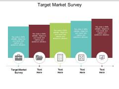 Target Market Survey Ppt PowerPoint Presentation Model Layout Ideas Cpb