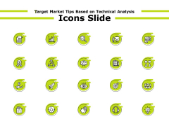 Target Market Tips Based On Technical Analysis Icons Slide Ppt Ideas Icons PDF