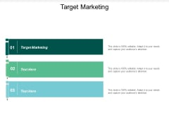 Target Marketing Ppt PowerPoint Presentation Outline Cpb