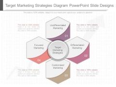 Target Marketing Strategies Diagram Powerpoint Slide Designs