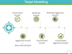 Target Modelling Template 1 Ppt PowerPoint Presentation Icon Slide