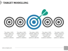 Target Modelling Template 2 Ppt Powerpoint Presentation Layouts Display
