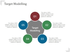 Target Modelling Templates 1 Ppt PowerPoint Presentation Show