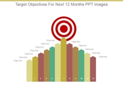 Target Objectives For Next 12 Months Ppt Images