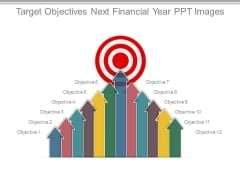 Target Objectives Next Financial Year Ppt Images