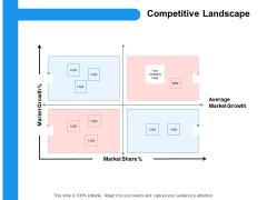 Target Persona Competitive Landscape Ppt File Smartart PDF