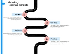 Target Persona Marketing Roadmap Template Ppt Outline Example PDF