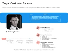Target Persona Target Customer Persona Ppt Ideas Show PDF