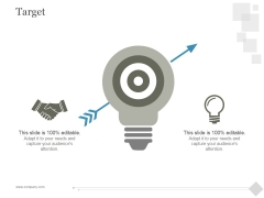 Target Ppt PowerPoint Presentation Example 2015