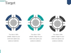 Target Ppt PowerPoint Presentation Guide