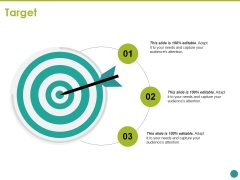 Target Ppt PowerPoint Presentation Icon Format Ideas