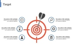 Target Ppt PowerPoint Presentation Icon Graphic Tips