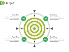 Target Ppt PowerPoint Presentation Icon Graphics Template