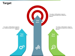 Target Ppt PowerPoint Presentation Icon Layout