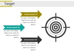 Target Ppt PowerPoint Presentation Icon Microsoft