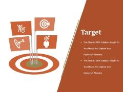 Target Ppt PowerPoint Presentation Icon Portrait