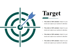 Target Ppt PowerPoint Presentation Icon Professional