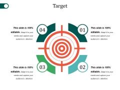 Target Ppt PowerPoint Presentation Ideas Elements