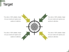 Target Ppt PowerPoint Presentation Infographics Display