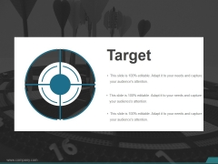 Target Ppt PowerPoint Presentation Infographics Show