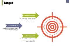 Target Ppt PowerPoint Presentation Inspiration Design Inspiration