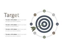 Target Ppt PowerPoint Presentation Model Elements