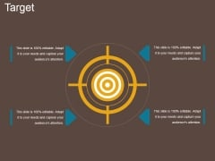 Target Ppt PowerPoint Presentation Model Examples