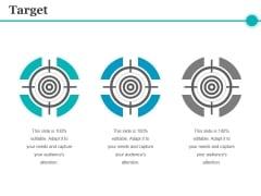 Target Ppt PowerPoint Presentation Model Good