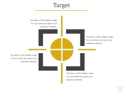 Target Ppt PowerPoint Presentation Model Graphic Images
