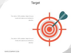 Target Ppt PowerPoint Presentation Model Graphics Design