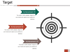 Target Ppt PowerPoint Presentation Model Graphics Download