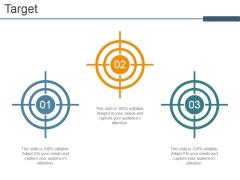 Target Ppt PowerPoint Presentation Model Ideas